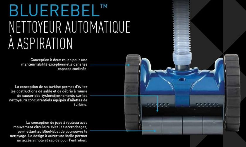 robot piscine bluerebel pentair